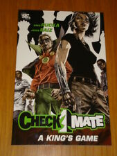 CHECKMATE A KINGS GAME  GREG RUCKA GRAPHIC NOVEL DC COMICS 9781401212209