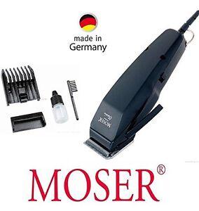 moser 1400 0458 edition corded hair clipper comb 4 18mm 220 240v black ebay. Black Bedroom Furniture Sets. Home Design Ideas