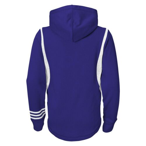 Orlando City SC MLS Performance Team Color Purple Pullover Hoodie Youth Girls