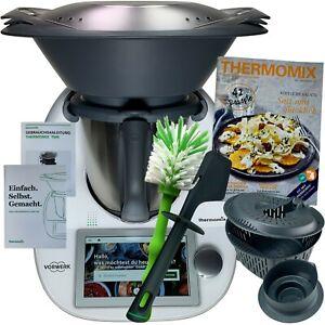 Dettagli su Vorwerk Bimby tm6 * cookidoo ® * accessori libro di cucina  Spazzola NUOVO OVP TM 6 WLAN w4w- mostra il titolo originale