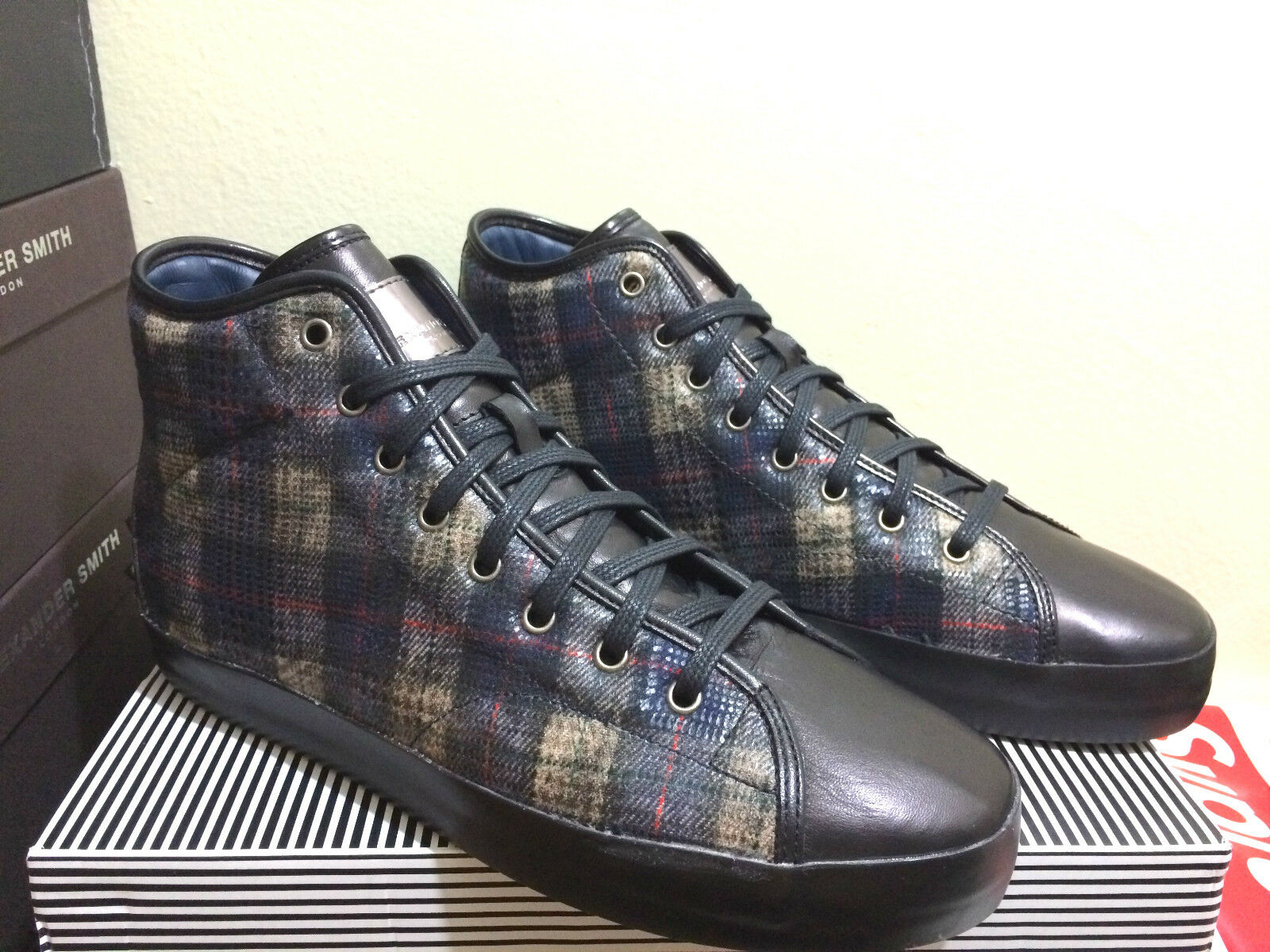 Alexander Smith London High top shoes,  600+ made in italy Alexander Smith shoes