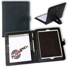 Schreibmappe mit aufstellbarem 10'' Pad Tablet Tab Halter Blackmaxx Mediamappe A