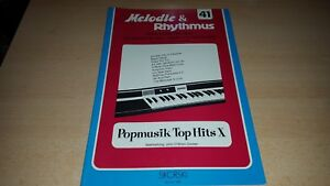 Noten-fuer-Keyboard-amp-E-Orgel-Melodie-amp-Rhythmus-41-Sikorski-1351