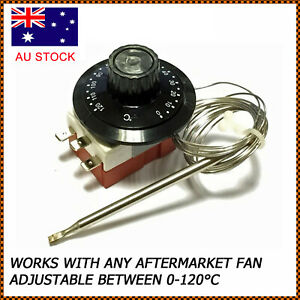 Universal-Capillary-Thermostat-Cooling-Radiator-Fan-Control-Switch-TS-120SR-AU