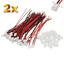 2-Set-4-Stueck-2Pin-2-0-PH-2-0mm-Mini-Micro-JST-Stecker-12cm-Kabel-Buchse Indexbild 1