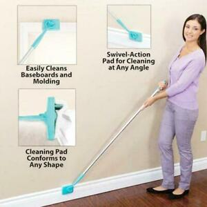 Baseboard-Buddy-Cleaner-Mop-Extendable-Micro-fiber-Dust-Room-Household-Cleaning