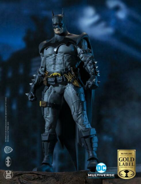 DC Multiverse Action Figure Batman Designed by Todd McFarlane Gold Label Coll...