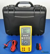 Fluke 724 Process And Temperature Calibrator Nist Calibrated With Warranty