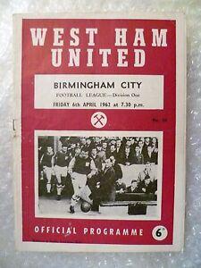 1962-WEST-HAM-UNITED-v-BIRMINGHAM-CITY-6th-April-League-Division-One