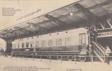 AK SPEISEWAGGON TRANSSIBIRISCHE EISENBAHN AUSSTELLUNG LIÈGE 1905  (AK1291)