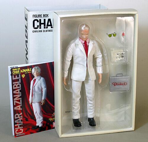 Hot toys bandai char aznable figure box rare MINT 1 6 gundam