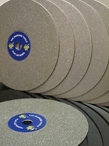 150mm-Splitt-150-THK-Diamant-Fest-Laeppscheibe-schleifscheiben-Flache-Schmuck