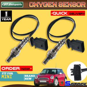 2x Upstream/&Downstream O2 Oxygen Sensors for Mini Cooper 2002-2008 I.6L W10B16A