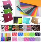 Rubberized Hard Case Shell +Keyboard Cover for Macbook Pro 13/15