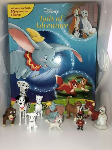 STORY 10 FIGURES FREE P+P DISNEY CLASSICS 2 TAILS OF ADVENTURE BUSY BOOK