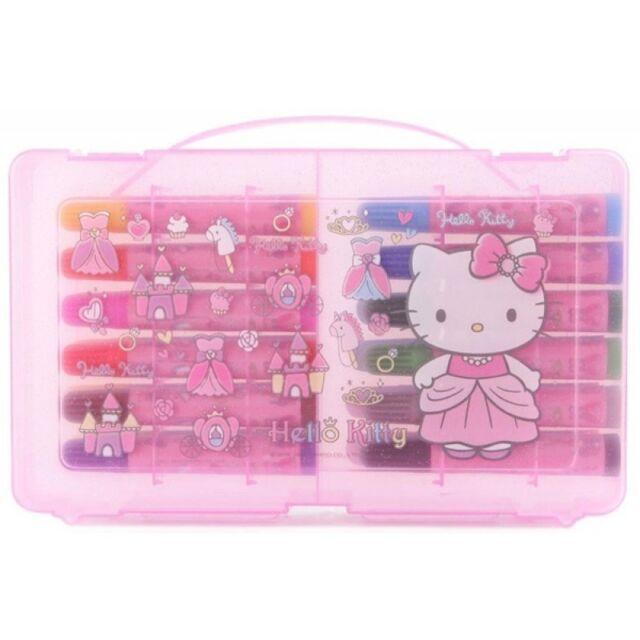 Hello Kitty 24 Colors Coloring Marker Set Princess sanrio