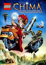 LEGO: Legends of Chima - The Lion, the Crocodile and the Power of Chi (DVD, 2014, 2-Disc Set)