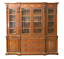 rare!! ralph lauren monumental flame mahogany weathersby breakfront bookcase