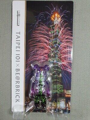 Medicom 100/% Bearbrick ~ Taipei 101 Be@rbrick Taipei Exclusive
