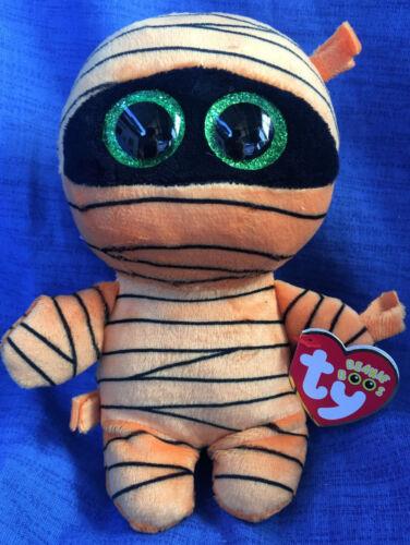 W-F-L TY Boos Mask Mumie Halloween 15 cm Glubschi Boo´s Glitzeraugen