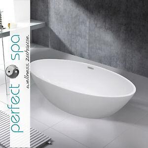 Luxus design freistehende badewanne wanne turin neu 1790 x for Tablett badewanne