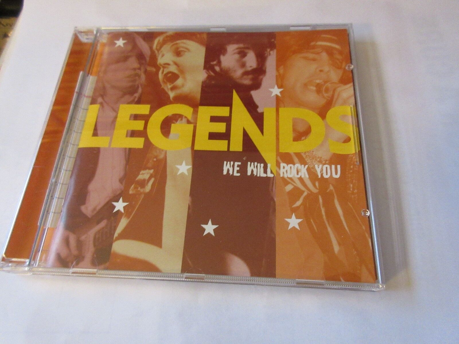 LEGENDS . We Will Rock You , CD