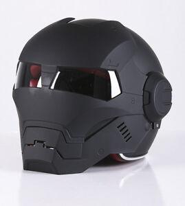 Masei-Iron-Man-open-face-motorcycle-helmet-with-visor-flip-front-matt-black