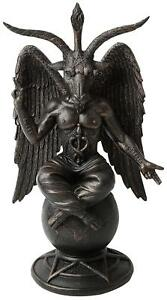 Baphomet-Antiquity-Figure-25-cm-Statue-Occult-Pagan-Wican-Goat-Mendes-Mythical
