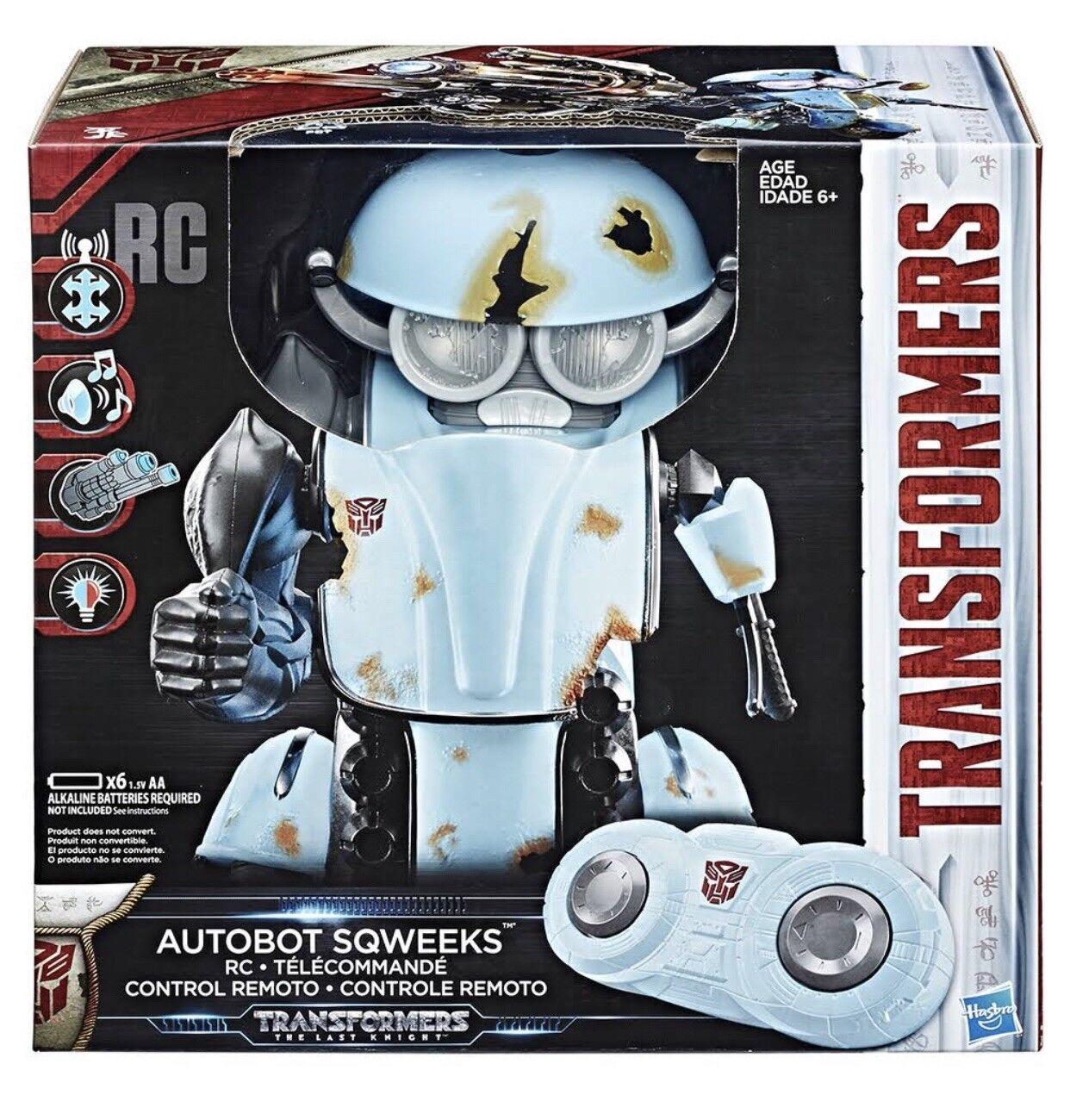 nuevo estilo Transformers Transformers Transformers 5 el último caballero Autobot sqweeks Control Remoto Rc Regalo Navidad  promociones