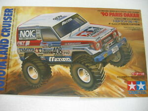 Tamiya-1-32-Mini-4WD-TOYOTA-LAND-CRUISER-90-Motorized-Truck-w-Motor-19013