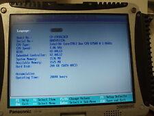 Panasonic Toughbook Tablet PC Core™2 Duo CF-19 U7500 MK2 2Gb 128 Gb SSD Garanzia