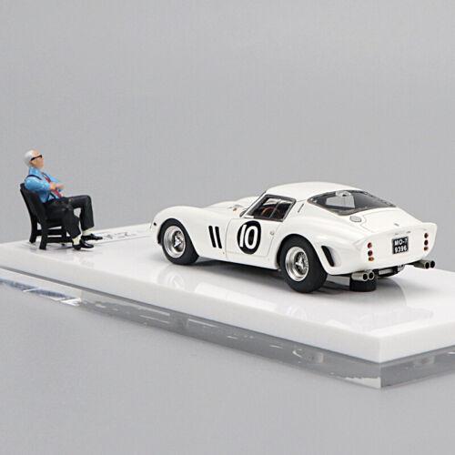 JEC 1//64 Ferrari 250GTO Limited Edition Car Model with Figure #10 #15 #18 #112