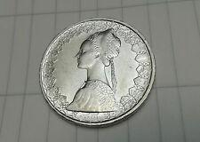 ITALIA 20 LIRAS 500 PLATA 1958 CARAVELLE MONEDA PLATA ITALY COIN