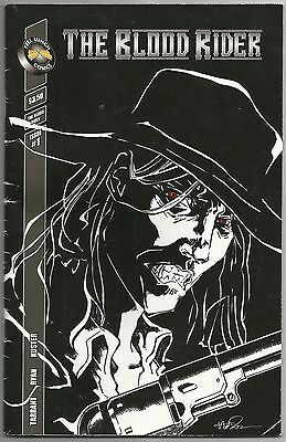 2008 The Blood Rider Issue #1 Comic Book Free Lunch Comics Tarrant Ryan Kuster