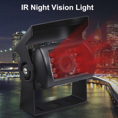 18 IR LED Night Vision Truck Bus Car Rear View Reverse Backup Parking Cameras!VU