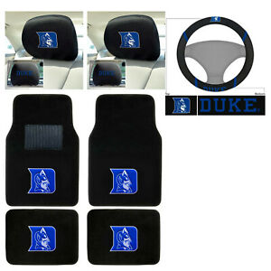 7pc Jeep Logo Elite Style Floor Mats Seat Covers Steering Wheel Cover Complete Combo Set