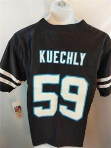 best service 06958 53b4d Details about New-No-Front Flaw Luke Kuechly #59 Panthers Youth Size M  Medium 10/12 Jersey
