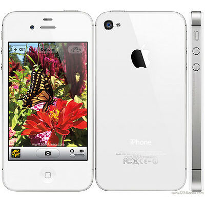 Apple  iPhone 4s - 16 GB - White - Unlocked Smartphone - Imported