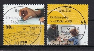 GüNstig Einkaufen Brd 2009 Gestempelt Esst Berlin Minr. 2723-2724 Post