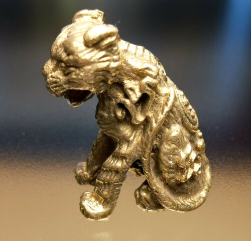 Powerful,Wealth Cat Holy Magic Thai Amulet Lucky Charm Talisman Protect life
