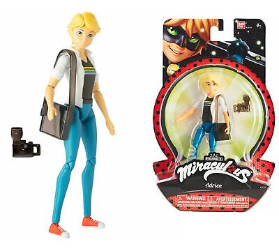 "Miraculous Ladybug Figure Doll RENA ROUGE 5.5/"" 14cm 39874 Bandai Free Shipping"