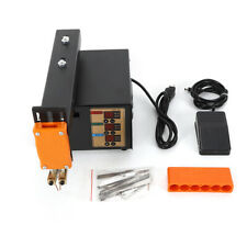 Battery Pulse Spot Welder With Clamp Fixture And Hex Wrench Soldering Pin 110v