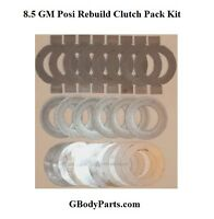 1970-81 Camaro Ss Z-28 Lt-1 F-body 8.5 Posi Unit Clutch Rebuild Kit