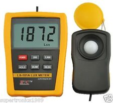 HTC Digital LCD Lux Meter Photometer Luxmeter Tester Photo Light Auto Range