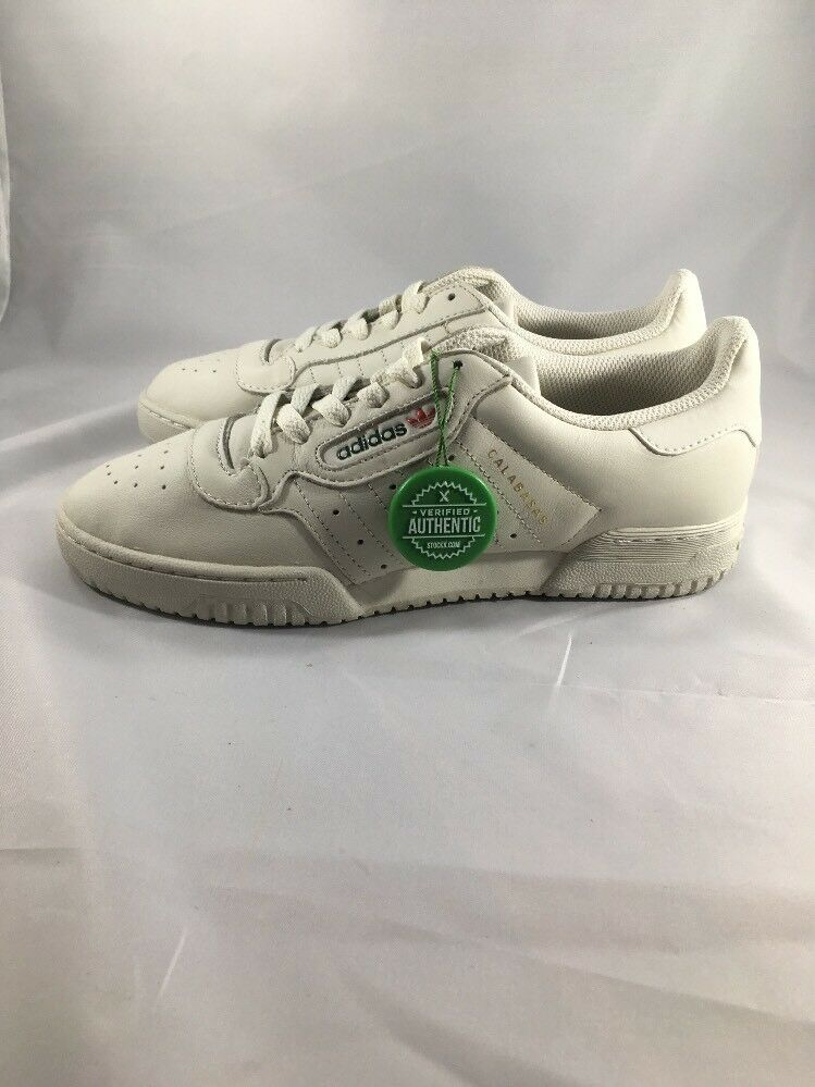 ADIDAS YEEZY 350 POWERPHASE CALABASAS KANYE WEST WHITE CQ1693 SIZE 7.5 US