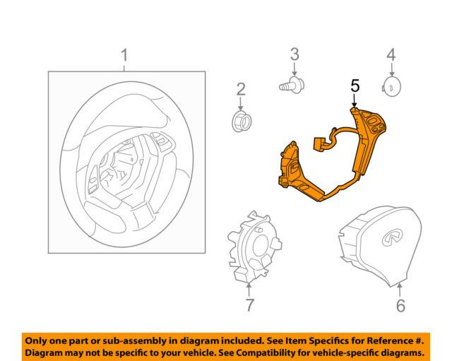 [EQHS_1162]  Infiniti Nissan OEM 08-13 G37 Cruise Control-set/resume Switch 25550JK13A  for sale online | eBay | Infiniti Cruise Control Diagram |  | eBay