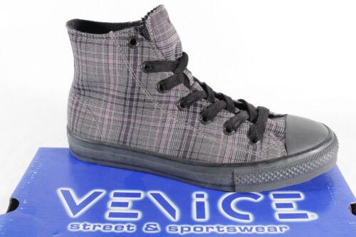 di up gomma Boots To a Suola Grigio quadri Lace Venice Nuovo ztwdqRz