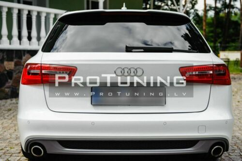 For A6 C7 4G Avant Boot Spoiler RS6  Style wing wagon tail