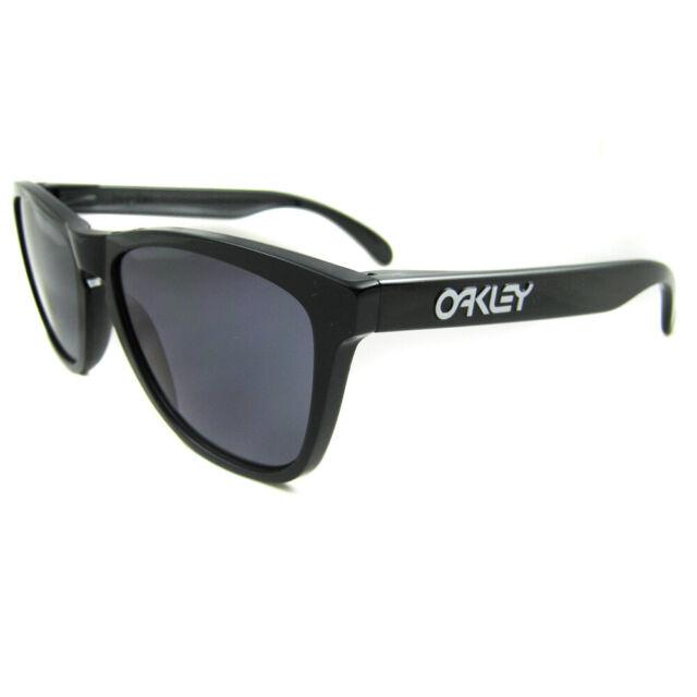 Oakley Sunglasses Frogskins Polished Black Grey 24-306