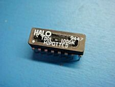 1 Halo Td01 1006k 100uh 11 3ns Dual Inline Aui Isolation Transformer 16p Dip